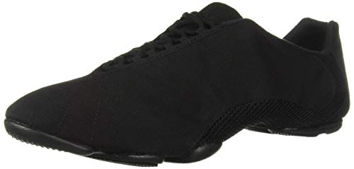 Bloch Women's Amalgam Canvas Sneaker Dance Shoe, Black, 13.5 Medium US