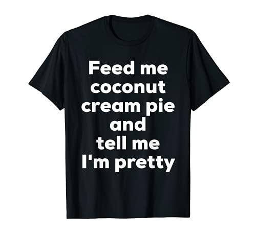 Amoureux de tarte à la crème de coco T-Shirt