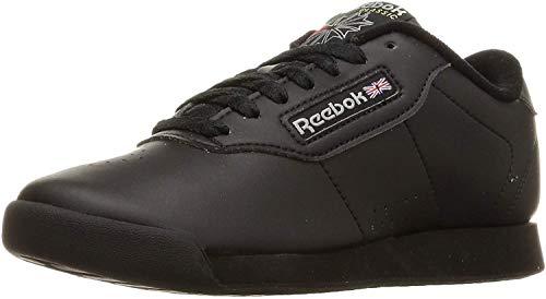 Reebok Princess Sneaker für Damen, Schwarz (Schwarz/Schwarz), 41 EU