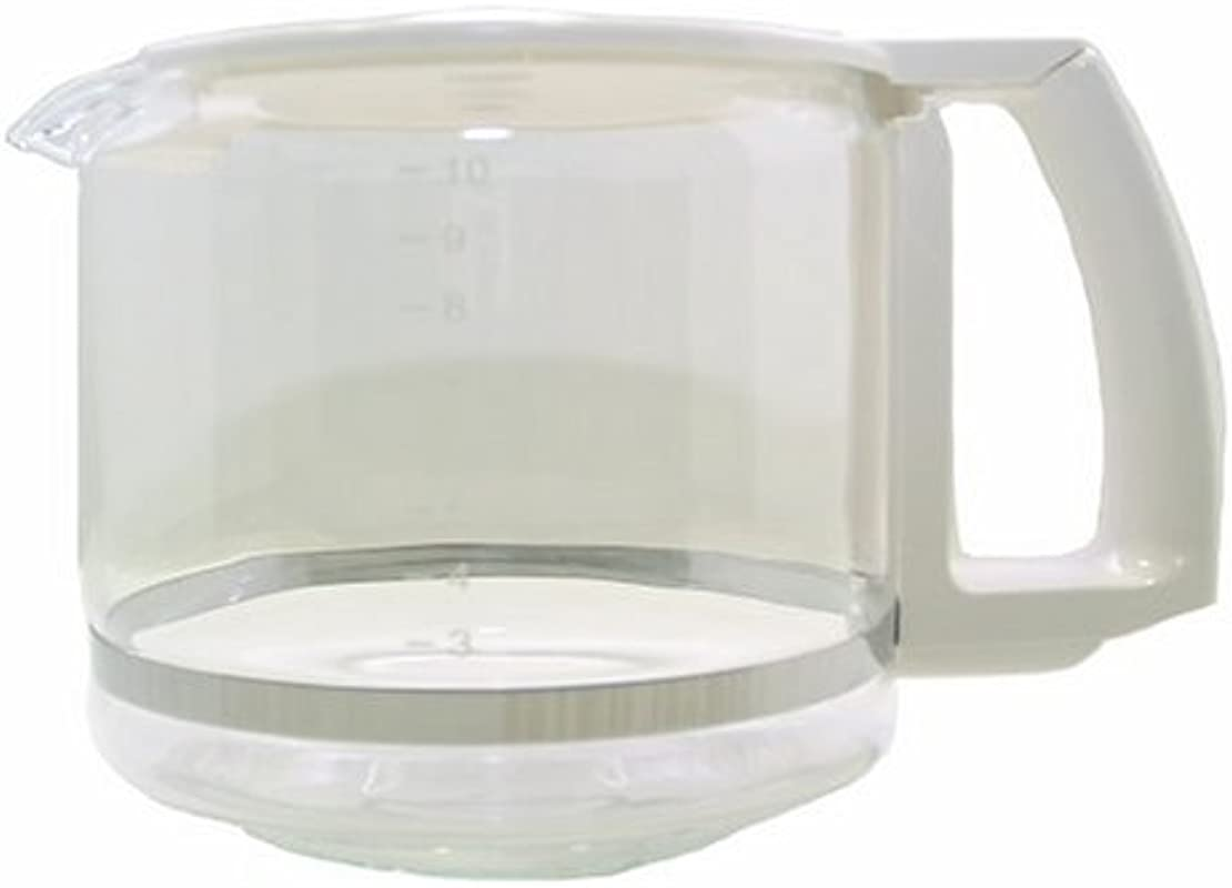 Krups KR016 70 Carafe White 10 Cup