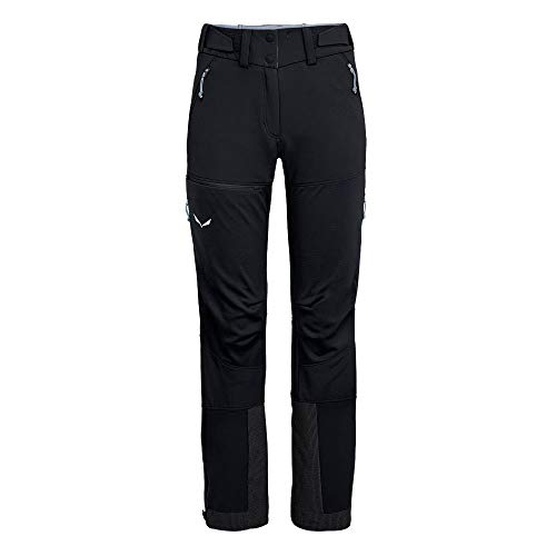 Salewa W Ortles 2 Windstopper Durastretch Pant Schwarz, Herren Hose, Größe 36 - Long - Farbe Black Out
