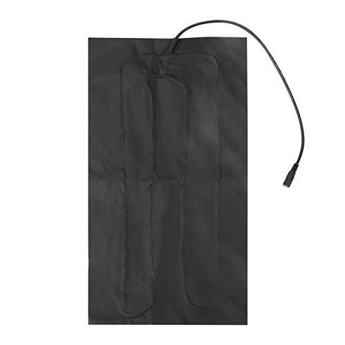 FOLOSAFENAR Safe 5V 2A USB Heat Pad Pet Bed Calentador Almohadilla eléctrica Almohadilla de Calor rápido Durable para Calentar el Hombro, el Cuello con 3 Modos de Temperatura Ajustable