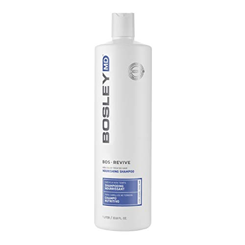 BosleyMD BosRevive Nourishing Shampoo for Noticeably Thinning and Non Color-Treated Hair, 33.8 fl oz.
