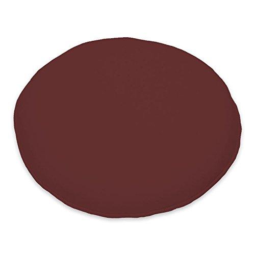 CC Round Pad Cushion (Set of 2) Colour: Terracotta