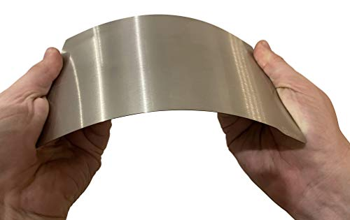3DPLady - Biqu Magnetische flexible Federstahlblech Druckbettauflage für SLA/DLP 3D Drucker (135x75mm Elegoo Mars/Mars Pro/Wanhao D7/Phrozen Sonic Mini 4K)