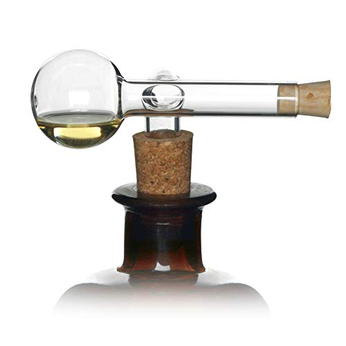 Dr. Jaglas Elixier-Dosierer / Ausgießer für Spirituosen / Schnaps Ausgießer & Schnapsportionierer 2cl / Schnapsspender Geschenk/ Schnapseinschenker / Einschenker Schnaps passend für viele Flaschen