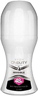 Avon On Duty Invisible Antiperspirant Women's Roll-On Deodorant 50 ml