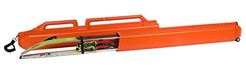 Sportube Series 2 Ski Blaze Hard Sided Telescopic Ski Case - Blaze Orange, 28 X 15 X 130 To 210 Cm