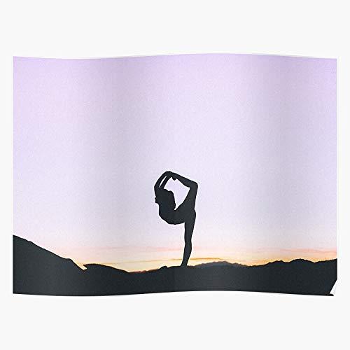 Retreat Womens Female Quotes Beauty Inspirational Yoga El póster de decoración de interiores más impresionante y elegante disponible en tendencia ahora