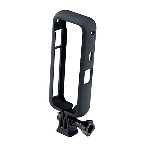 MERIGLARE Accesorios de Soporte de Borde de Marco Protector con Adaptador de Rosca de 1/4'Piezas de cámara de acción Liberación rápida, fácil de Instalar