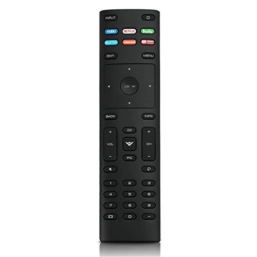 XRT136 Replace Remote Control fit for VIZIO Smart LED TV E55-E1 E55-E2 E32-D1 E43-E2 E65-D1 E48-D0 E48U-D0 E49U-D1 E50-D1 E50-E1 E50-E3 M60-D1 M65-D0 M65-E0 M70-D3 M70-E3 M75-E1 P75-E1 M55-E0 M55-D0