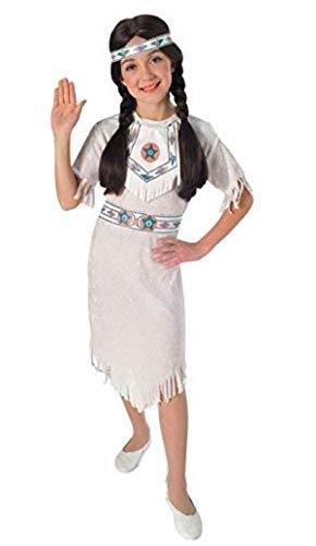 Disfraz de Princesa India Apache para nia, Talla M infantil 5-7 aos (Rubie's 881053-M)