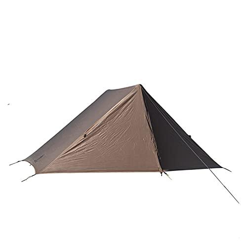 LUBINGMY Tienda Easy Setup Survival Shelter para Aventurero Senderismo Camping 3 Temporada en Forma 2 Personas (Color : CB)