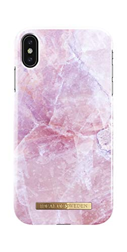 iDeal Of Sweden Handyhülle für iPhone XS Max (Marmor Print) (Pilion Pink)