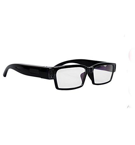 Flylinktech Spy Glasses Occhiali Spia Videocamera HD 720P 5MP