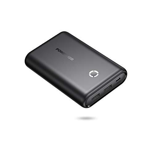 POWERADD EnergyCell Powerbank 15000mAh Batería Externa Cargador Portátil con 2 Salidas (5V/2.4 * 2) para iPhone,Samsung,Huawei,Xiaomi,Tablets - Negro