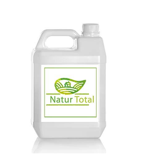 Natur Total Laborwasser, Reinst-Wasser, Labor Wasser, 2-fach destilliertes Wasser, durch Osmose entmineralisiert (5 Liter)