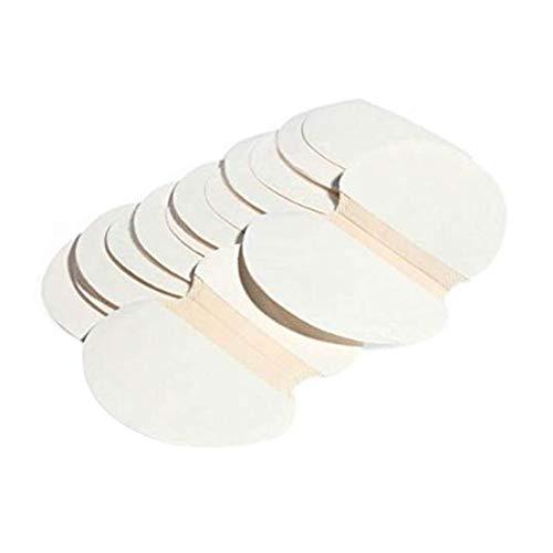 Demarkt - Almohadillas para las axilas (30 unidades, para sudoración de axilas, antebrazos, ajuste perfecto, invisibles, cómodas, protección de la altura de las axilas