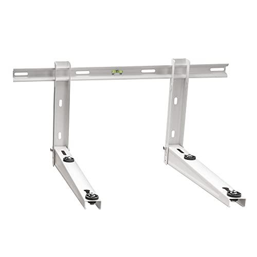 ICOOL Outdoor Wall Mounting Bracket for Universal Mini Split Ductless Air Conditioner Heat Pumps, Compressors & HVAC Systems, Heavy Duty Wall Mount Bracket Support 9000 to 36000 BTU Condenser