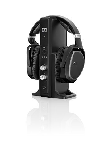 Sennheiser RS 195 Cuffia Wireless, Tecnologia Digitale, Nero