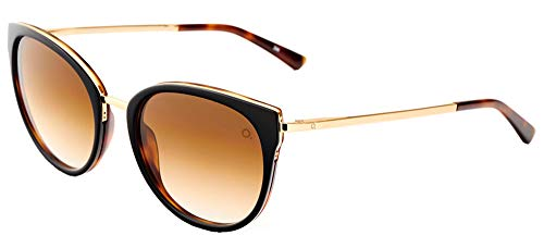 Etnia Barcelona Sonnenbrillen IFARA SUN BLACK/BROWN SHADED 54/19/143 Unisex