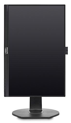 Philips 241B7QPJEB - 24 Zoll FHD Monitor, höhenverstellbar (1920x1080, 60 Hz, VGA, HDMI, DisplayPort, USB Hub) schwarz