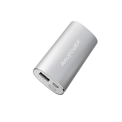 RAVPower Universal Portable Charger 6700mAh (iSMART USB Output 2.4A &...