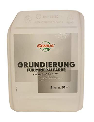 2x5 L Genius Grundierung für Mineralfarbe 10 L