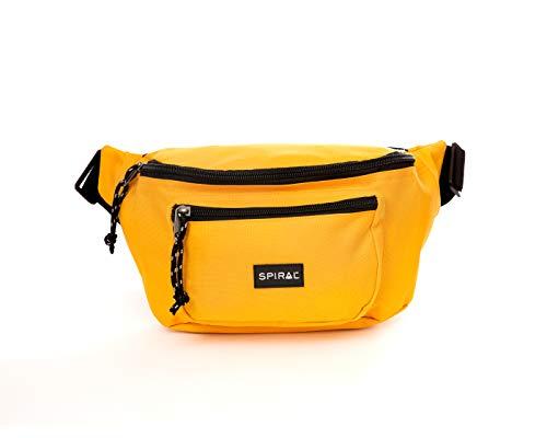Spiral OG Bum Bag - Yellow Riñonera de Marcha 25 Centimeters 3 Amarillo (Yellow)
