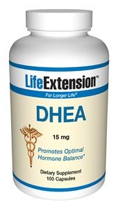 Life Extension DHEA 15mg 100 Capsules