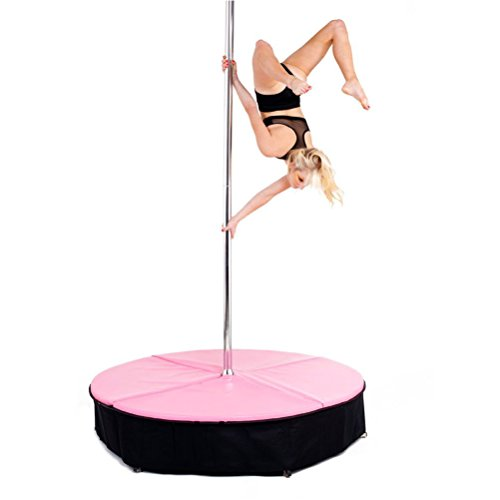 gymmatsdirect Pink Color 5'x4 Pole Dance Crash Mat Pole Crash...