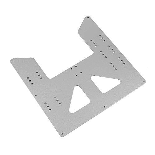 IJeilo 3D printer accessoires Hot Bed Base Plaat Geanodiseerd Aluminium Plaat 3D-printers, als reserveonderdelen verbruiksartikelen