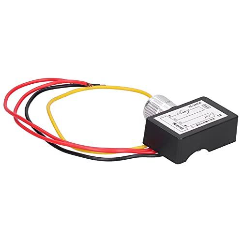 YOIM Interruptor regulador de Velocidad electrónico, Controlador de Velocidad del Motor PWM práctico para Ajustar la Velocidad del Motor Control del Calentador del Ventilador del automóvil