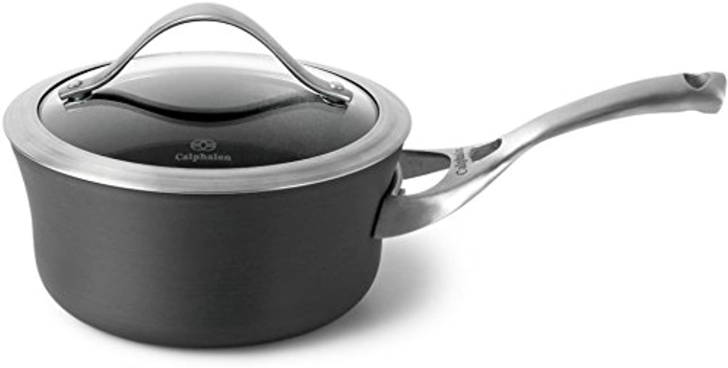 Select by Calphalon Nonstick 1.5 Quart Saucepan with Cover