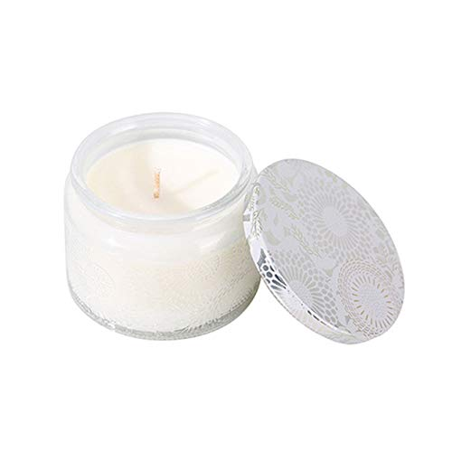 Jiaojie Scented Candle Natural Soy Candle for Home 24 Hours Long Burning Mini Relief Glass Jar Desktop Decor