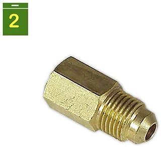 DOJA Industrial Reducciones Reduccion SAE Macho-Hembra 1//2 x 3//8
