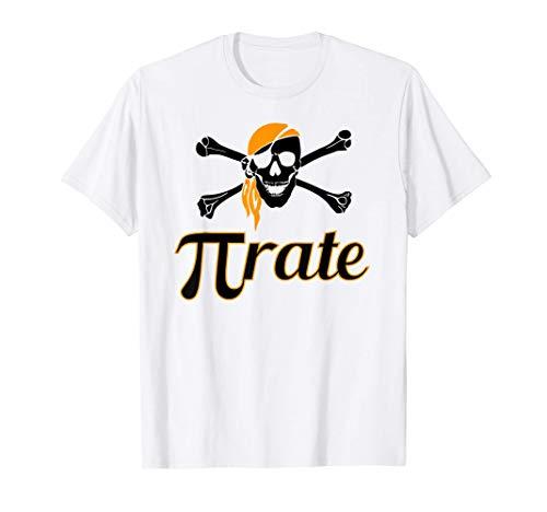 Pi Day Shirt Women Funny Pirate Day Shirt Cool Funny Math T-Shirt