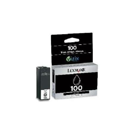 Lexmark Tintenpatrone Schwarz Nr 100xl 14n1068e Bürobedarf Schreibwaren