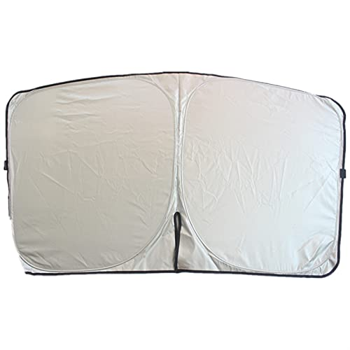 WYDMBH Parasol Coche Delantero Ventana de Coches Sun Shade Block Sun Visor Protector Coche Portada de Visor Cubierta de la sombrilla for Ford Escape Kuga...
