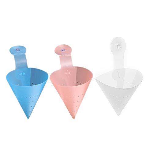 Verloco 1 stuks afdruiprek voor keukengootsteen, afneembaar, eenvoudige stijl, multifunctionele filter, voorkomt het blokkeren van waterleidingen, maat: 42 17,5 cm