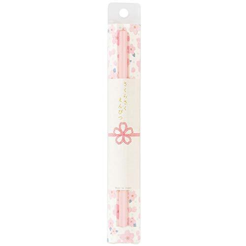 サンスター文具 さくらさくえんぴつ HB芯 1本入り ソメイヨシノの淡いピンク色