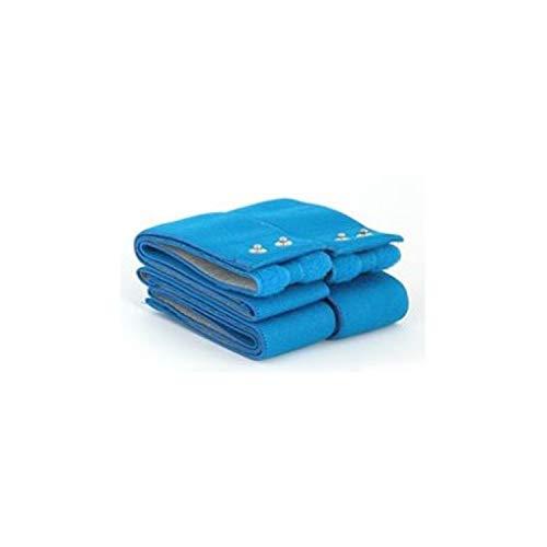 Globus G0480, Kit de Cintas elásticas conductoras Fitness Top Unisex Adulto, Azul, Única