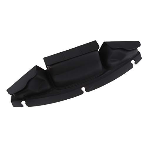 MagiDeal Bolsa de Parabrisas Negra con Bolsillo para Sillín Carenado para Electra