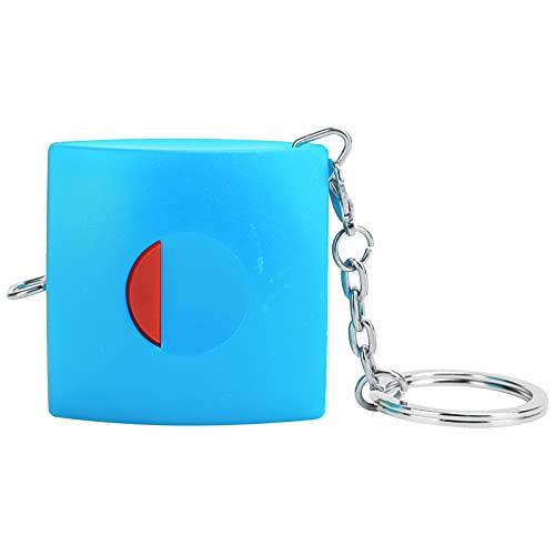 Cinta métrica, cinta métrica retráctil, regla de medición corporal, cinta retráctil portátil para medir ropa para el hogar(blue)