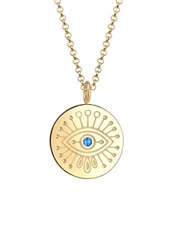 Elli Women Silver Pendant Necklace - 0105742918_60 - 60cm length