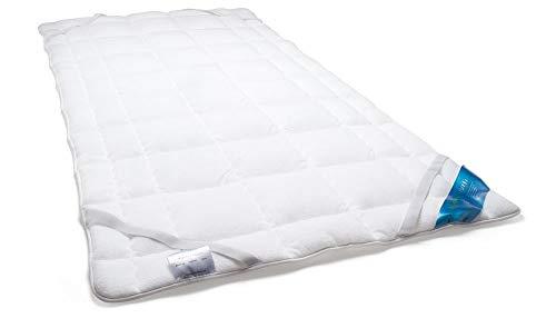 Schlafmond Medicus Clean Allergiker Matratzenschoner, Unterbett aus Baumwolle waschbar bis 95 Grad (90x200 cm)