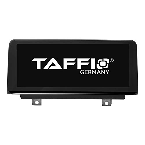 TAFFIO® Android 9.0 Anti Glare Touchscreen GPS Navigation SD USB Multimedia Media Player für BMW 3 Series F30 F31 F34 F35 *10.25