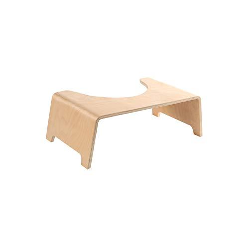 Taburete for inodoro médico Wooden Edition hecho de madera contra las hemorroides, estreñimiento, intestino irritable, flatulencia, abdomen distendido, también for la limpieza y desintoxicación del co