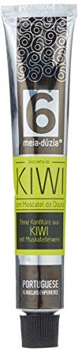 Meia Dúzia Kiwi-Konfitüre mit Muscatel Wein, 2er Pack (2 x 75 g)
