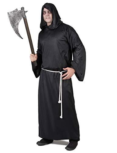 Déguisement faucheur lugubre Homme Halloween Taille Unique (42)